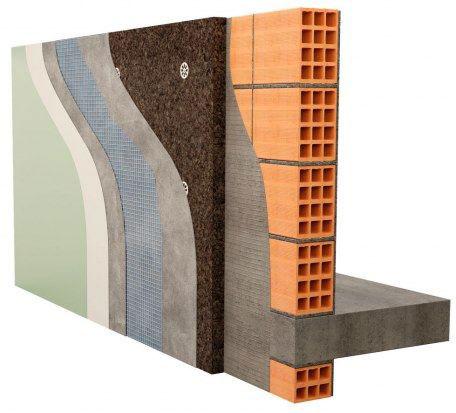 Fachadas SATE Sistema de Aislamiento Térmico Exterior